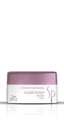 Wella SP Care Clear Scalp Mask 200ml System Professional