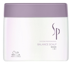 Wella SP Care Balance Scalp Mask 400ml System Professioal