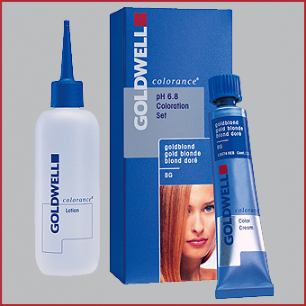 Goldwell Haarfarbe Colorance pH 6,8  Tube 30ml  Lotion 60ml Tönung